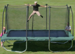 image of summit rectangle trampoline review