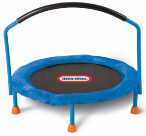 image of little tikes mini trampoline for toddlers 1