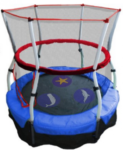 image of mini trampoline for kids 1