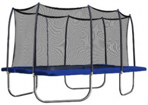 image of 15 foot rectangle trampoline 1