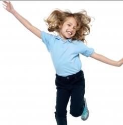 image of mini trampoline help kids
