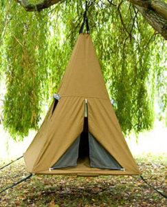 image of trampoline tent and bed 2