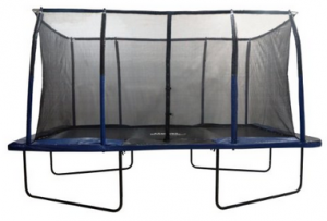 image of upper bounce easy assemble rectangle trampoline 1