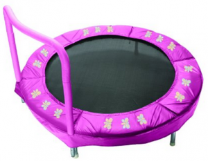 image of bazoongi bar trampoline for toddlers 1