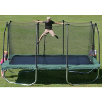Summit 14' Rectangle Trampoline Review