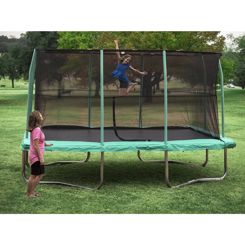 Best Size Trampoline Rectangle