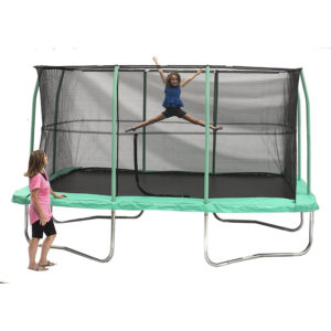 JumpKing 10 x 14 Foot Rectangular Trampoline