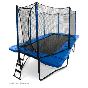 JumpSport Rectangle Trampoline with Enclosure