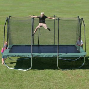 Summit Rectangle Trampoline with Safety Enclosure