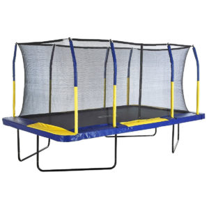 "Upper Bounce Easy Assemble ""Spacious"" Rectangle Trampoline"