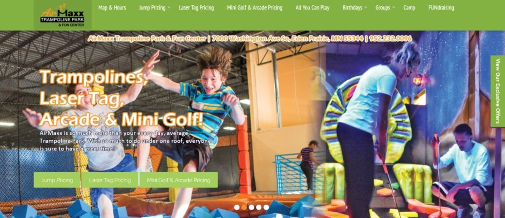top 20 best trampoline parks in the world