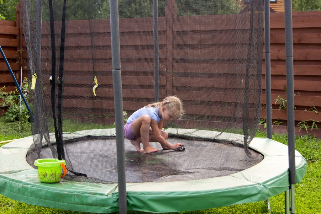 How To Clean Trampoline